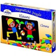 DETOA mágneses puzzle bohócok 12666