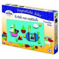 DETOA mágneses puzzle kisvakondos 13882