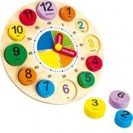 Legler óra puzzle - angolul tanulom az időt 1486