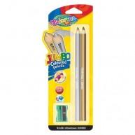 Colorino Kids Jumbo kerek színes ceruza (arany+ezüst)  51675PTR