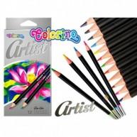 Colorino Artist  színes ceruzák , 12 db    COL65498