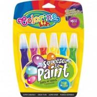 Colorino Kids ecsetes tempera 6db-os 15776