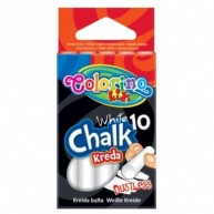 Colorino Kids fehér kréta táblára 10db-os 33138
