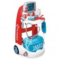 SMOBY orvosi kocsi orvosi táskával és hanggal 16 részes 340202