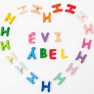 GABELIZ fa ABC betűi ragasztható / 1db