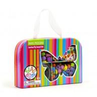 Bead Bazaar gyöngyfűző készlet pillangós táskában 3502