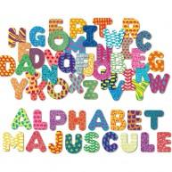 Vilac mágneses ABC betűi 56db-os fadobozban 6702