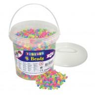 PLAYBOX vasalható gyöngyök 5000db-os pasztel színű 2455962