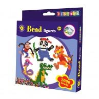 PLAYBOX vasalható gyöngyök 2000db-os dzsungeles 2456335