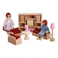 IMP-EX fa bababútor babaházhoz - játék nappali 3512C