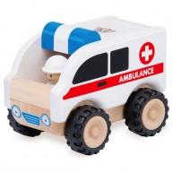 Wonderworld fa játék mentőautó 4385