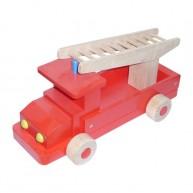 IMP-EX fa játék tűzoltóautó nagy 3285