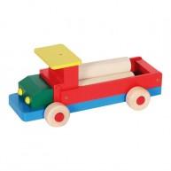 IMP-EX teherautó színes rönkökkel 3417