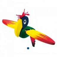 BINO függeszthető papagáj szobadekoráció kicsi 91007