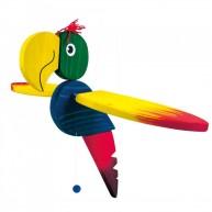 BINO függeszthető szobadekoráció papagáj 91008