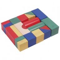 IMP-EX Fa építőkocka színes 5 cm-es - 20 db-os 0213