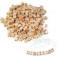 Legler 300db natúr fa gyöngy karkötő és nyaklánc fűzéshez 2126