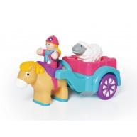 WOW Toys Mary báránykájával  és  lovaskocsijával 10346