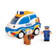 WOW Toys Charlie rendőrautó rendőrrel és rendőrkutyával 4050