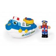 WOW  Toys Perry rendőrségi spriccelős motorcsónakja 10347