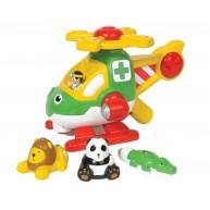 WOW Toys Harry játék állatmentő  helikopter 1014