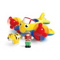WOW Toys Johnny állatmentő repülője tigrissel 1013