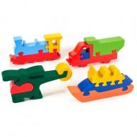 Puzzoo 3D puzzle,  járműves 1645
