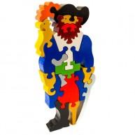 Puzzoo 3D puzzle , kalóz papagájjal 1614