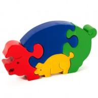 Puzzoo 3D puzzle, malackás 0901