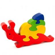 Puzzoo 3D puzzle,  csiga 0900
