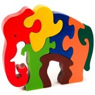 Puzzoo 3D puzzle, elefánt (nagy)  0907