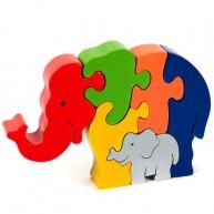 Puzzoo 3D puzzle , elefánt (közepes)  0903