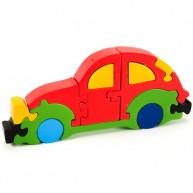 Puzzoo 3D puzzle - VW Beetle autó 0904