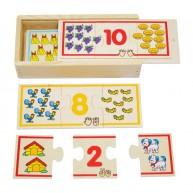 VIGA Számpárosító puzzle 2576