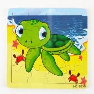 IMP-EX 16 db-os puzzle, teknősbéka 4332-D
