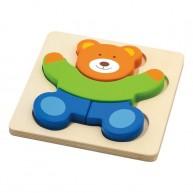 VIGA magasított puzzle - Mackó 3627-A