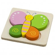 VIGA magasított puzzle - pillangó 3627F