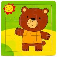 Puzzle macis 9db-os 3261