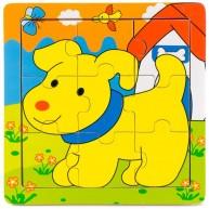 Puzzle kutyás 9db-os 2888