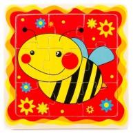 Puzzle méhecskés 9db-os 2329