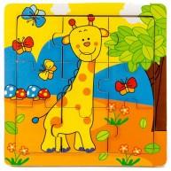 Puzzle zsiráfos 9db-os 2890