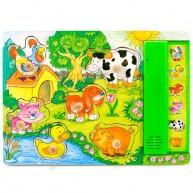 IMP-EX Fogantyús hangot adó puzzle farmos 0941