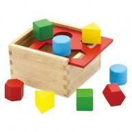 IMP-EX  Színes formakereső doboz 0129