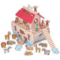 Mentari formafelismerős játék - Noé bárkája 4274