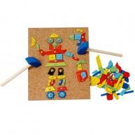 Viga kalapálós mozaik kirakó kék kalapáccsal 2883