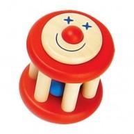Fa babacsörgő piros bohócos 2286-A