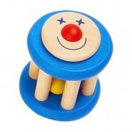 Fa babacsörgő kék bohócos 2286-D
