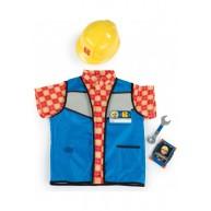 Smoby Bob mester munkaruhája védő sisakkal 380300