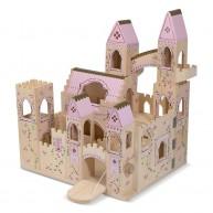 Melissa & Doug fa hercegnős kastély szétnyitható 1263