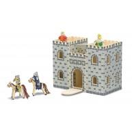 Melissa & Doug fajáték szétnyitható királyi  vár - 3702